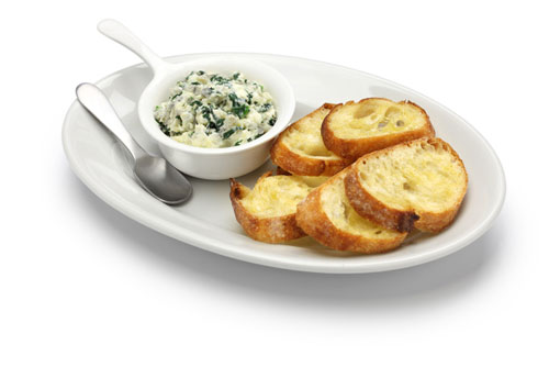 Dip with Garlic and Artichoke Hearts