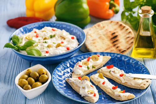 Greek Yogurt with Feta Dip