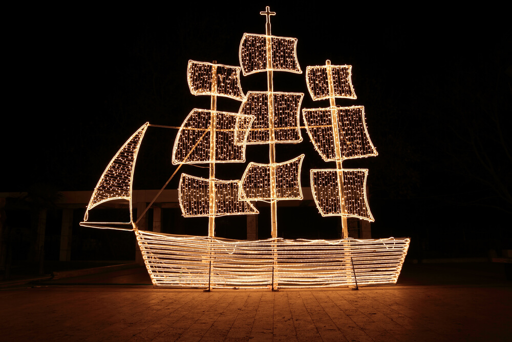 Greek Christmas Ships
