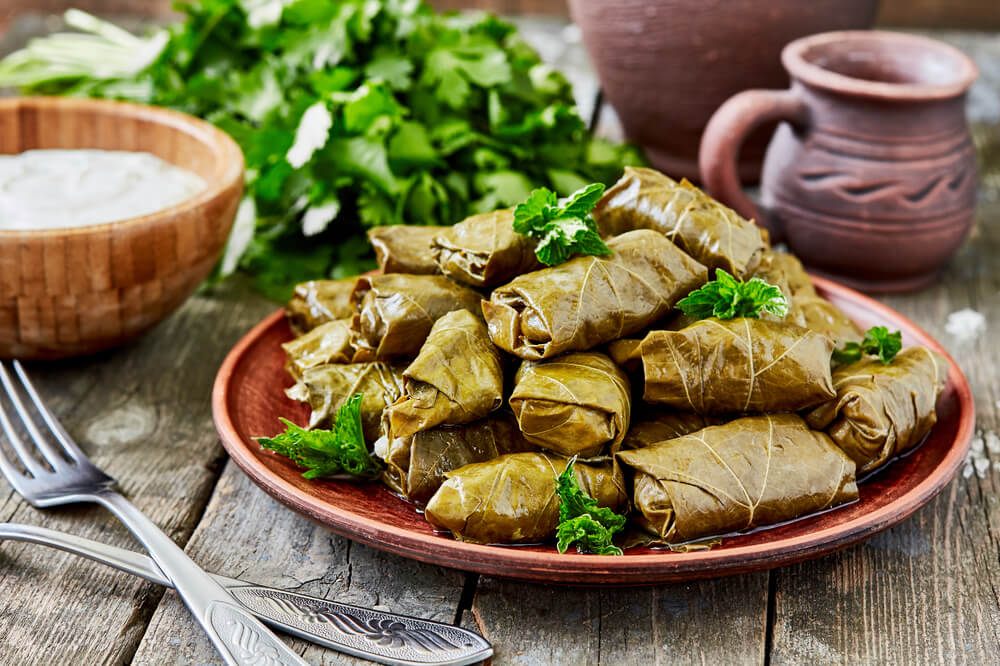 1. Dolmades (Bet You Can't Eat Just One)