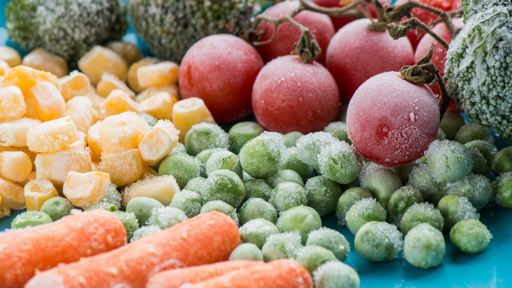 Frozen Fruits and Vegetables Retain Vitamins and Phytonutrients